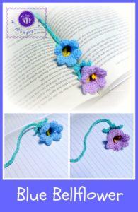 Blue Bellflower by Maz Kwok's Designs