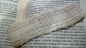 Easy Bookmark by Candace for Crochet Spot