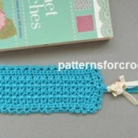 Tasseled Bookmark by Patterns For Crochet