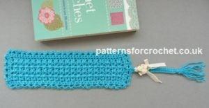 Tasseled Bookmark by Patterns For Crochet