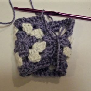 Granny Fingerless Gloves Tutorial 2