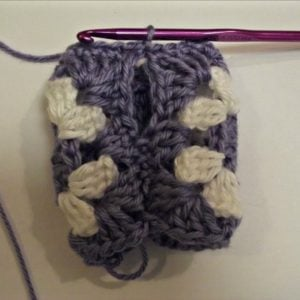 Granny Fingerless Gloves Tutorial 3
