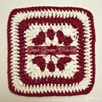 Simple Granny Dishcloth