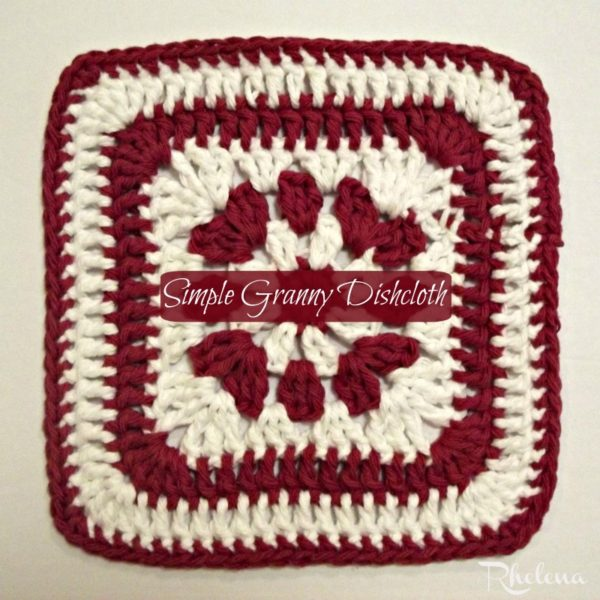 Simple Granny Dishcloth