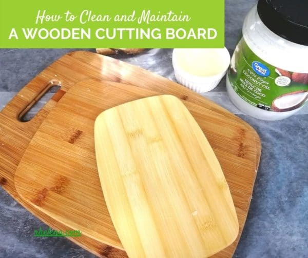 Image showing a few cutting boards along with coconut oil and board butter.