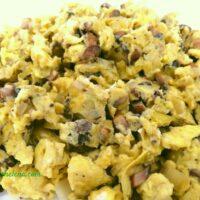 Scrambled Eggs with Mushrooms