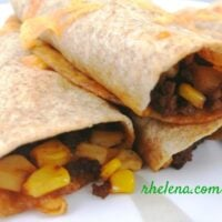Corn and Beef Taquitos